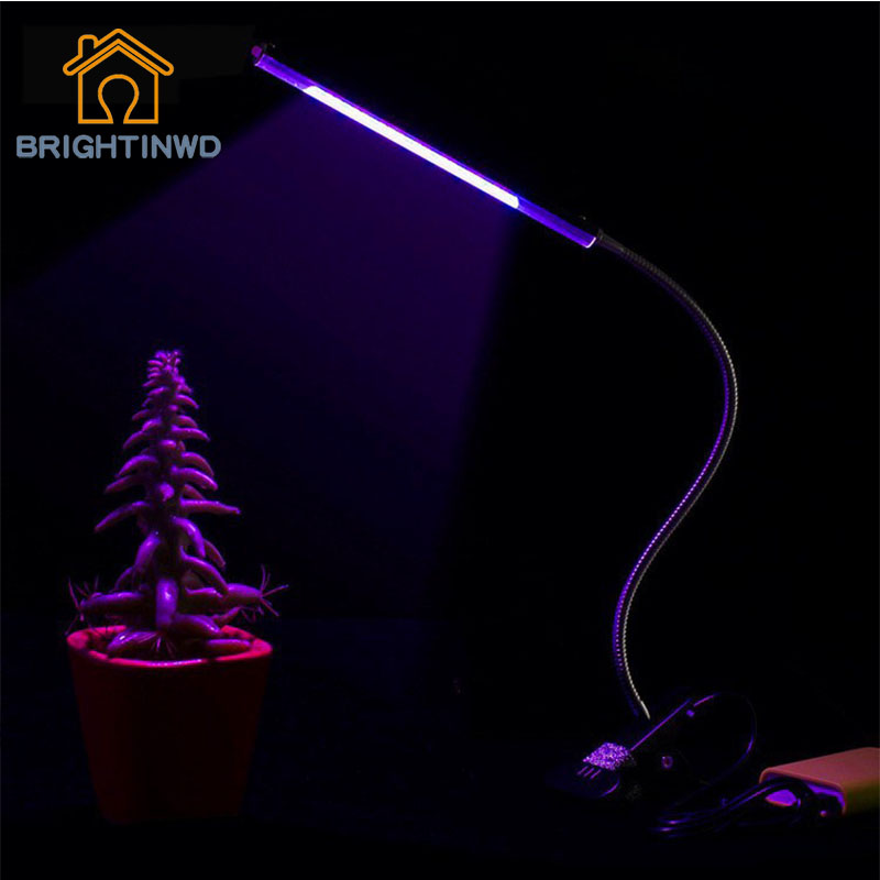 BRIGHTINWDLED Plant Growth Lamp Plant Supplement Lamp Full Spectrum Plant Lamp Grow Light Led