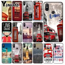 Yinuoda London big ben Bus Colorful Phone Accessories Case for Xiaomi Mi 6 Mix2 Mix2S Note3 8 8SE Redmi 5 5Plus Note4 4X Note5(China)