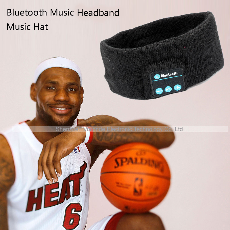 Smart Wearable Headphone Stereo Music Bluetooth Wireless Headset With mic Answer Call 1