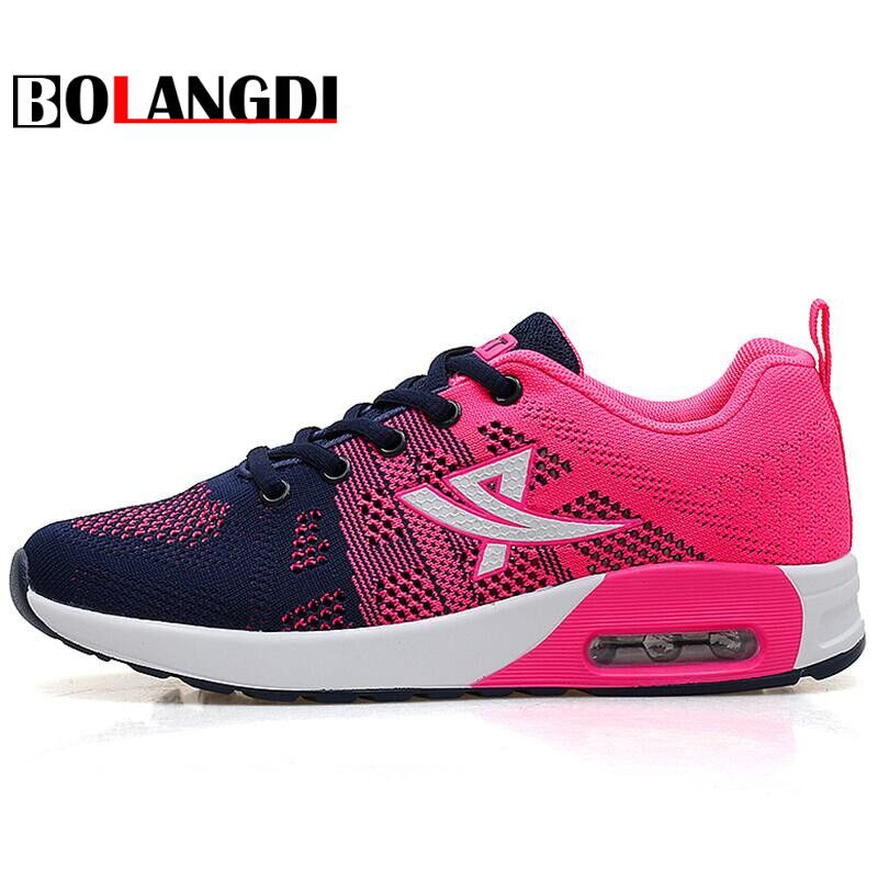 Bolangdi New Summer Breathable Cheap Women Running Shoes Brand Women's Sport Shoe Speed Outdoor Athletic Female Jogging Shoes