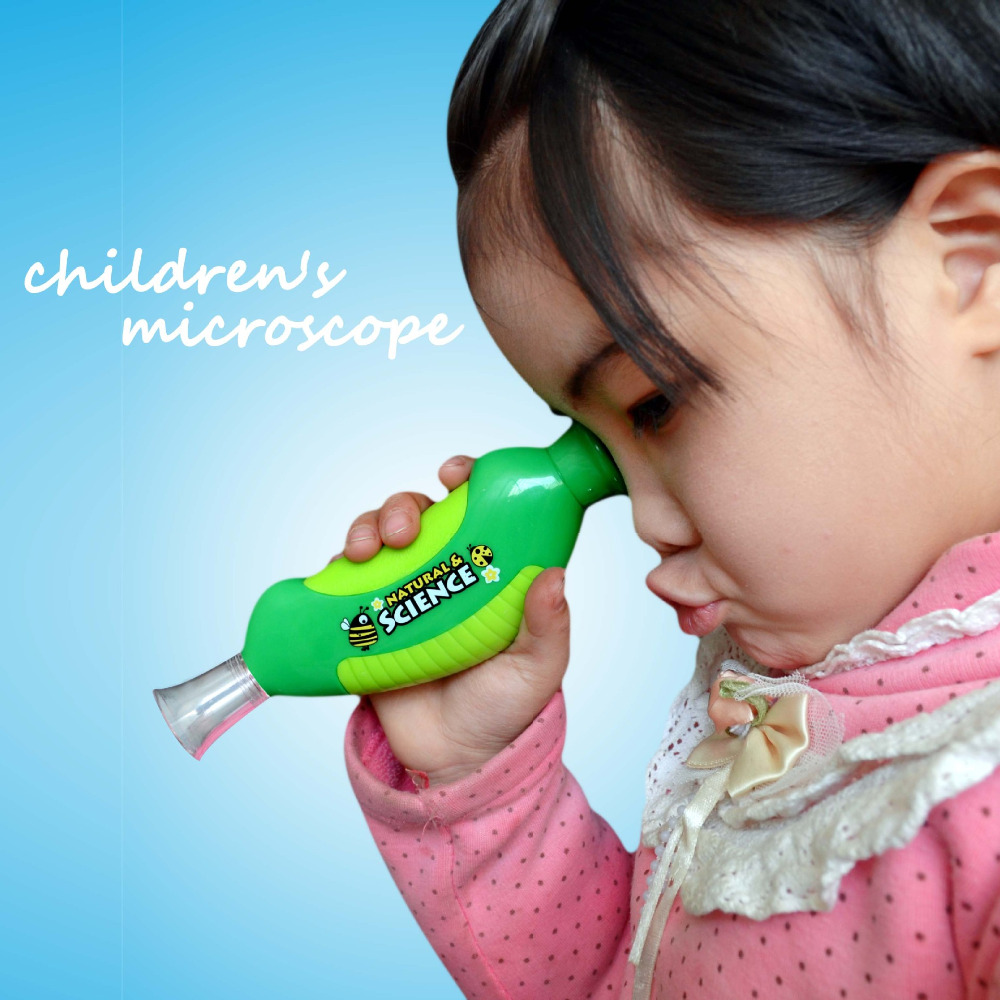Biologist Educational Insights 30X Hand type Microscope child learn grow toy student science experiment Teaching prop kids gift