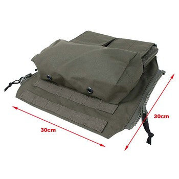 New Panel PouchTactical Vest Zipper Magazine Pouch Bag for CPC AVS JPC2.0 Ranger Green Free Shipping