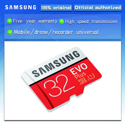 سامسونج مايكرو SD 16GB 32GB 64GB 128GB 256GB EVO زائد مايكرو بطاقات الذاكرة بطاقة SDHC SDXC ماكس 80 متر/الثانية C10 TF ترانس فلاش بطاقة Mikro