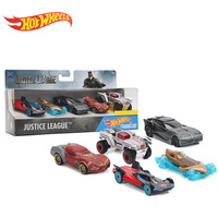 Hot Wheels Cars Justice League Superman Batman Character Cars 1 64 Fast And Furious Diecast Cars