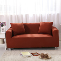Solid Color Sofa Covers for Living Room Furniture Stretch Couch Cover Elastic Non slip Slipcover Sofas Set Home Decor funda sofa
