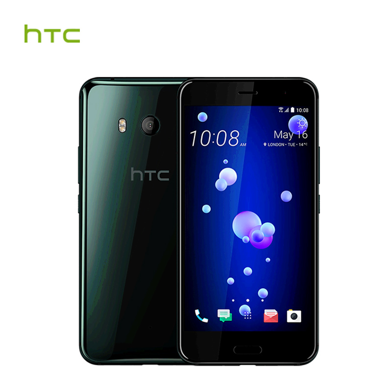 Official Original HTC U11 6GB RAM 128GB ROM 4G LTE Octa Core Snapdragon 835 IP67 Waterproof 5.5'' Dual Camera Smart Cellphone