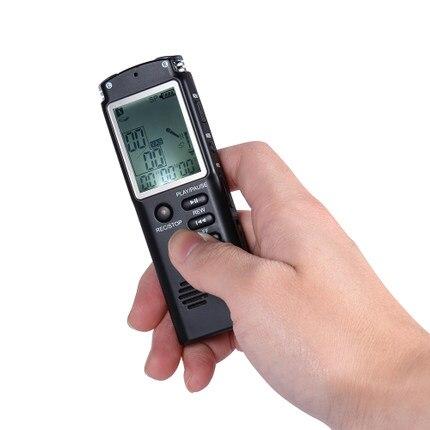 8 GB 1536 Kbps Audio enregistreur vocal numérique lecteur de musique MP3
