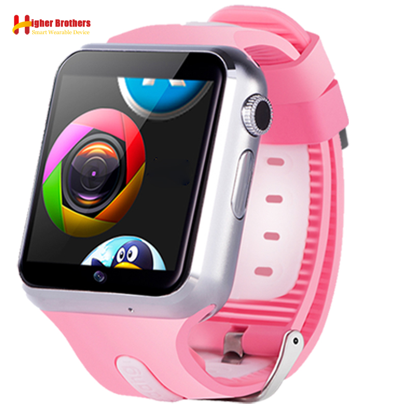 Smart 3G Wifi Android 5.1 OS Camera Kids Students Bluetooth Music Phone Watch Wristwatch Support SIM TF Card Whatsapp Facebook