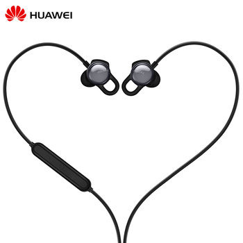 Original Huawei Honor AM16 Smart Earphone 3.5mm Mic APP Real-time Heart Rate Moon Detection Heart Index Relax training Sport Phone Earphones & Headphones