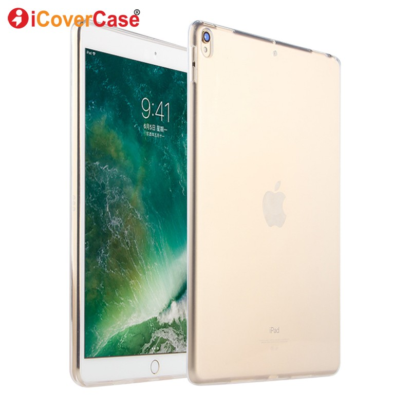 For Apple iPad Pro 10.5 inch Case Protector Case Silicon Cover Clear Color Soft