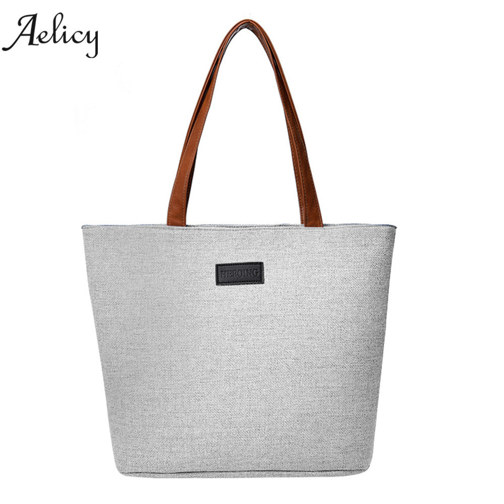 Aelicy Women Girl Fashion Canvas Shoulder Bag Useful Solid Totes soft woman designer bags luxury high quality crossbody bagsAelicy Women Girl Fashion Canvas Shoulder Bag Useful Solid Totes soft woman designer bags luxury high quality crossbody bags