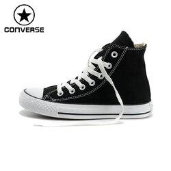 Oryginalny nowy nabytek Converse wysoki klasyczny brezentowy buty na deskorolkę Unisex Sneakser