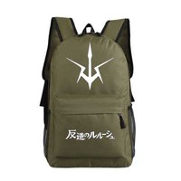 New Code Geass Backpack Anime oxford Schoolbags Fashion Unisex Travel Bag