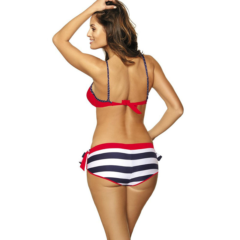 Women Tops with Pants Bikini Suit Fast Dry Skinny Breathable Swimsuit for Summer YS-BUY 4