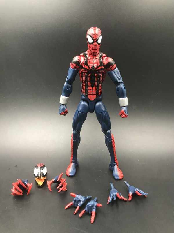 1709b7a21580 6 inch action figure Marvel Legends Ben Riley Spiderman Collection model  doll toys, a birthday
