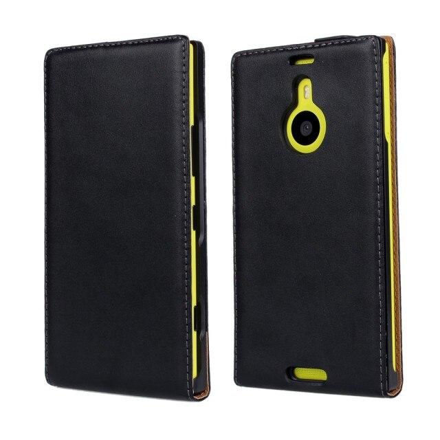 Caso de cuero del tirón vertical para nokia lumia 1520 shell bolsa de Teléfono M