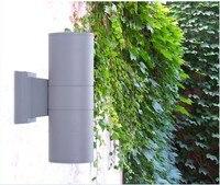 110*300mm up and down 24W led outdoor wall light 2*12W Yard Street IP65 Waterproof courtyard garden Corridor led wall lamp