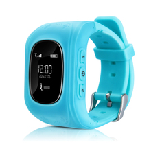 Smart Phone Watch Children Kid Wristwatch Q90 GSM GPRS GPS Locator Tracker Anti Lost Smartwatch Child