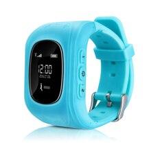 Smartphone Kinder Kid Armbanduhr Q90 GSM GPRS GPS Locator Tracker Anti-verlorene Smartwatch Kind Schutz für iOS Android