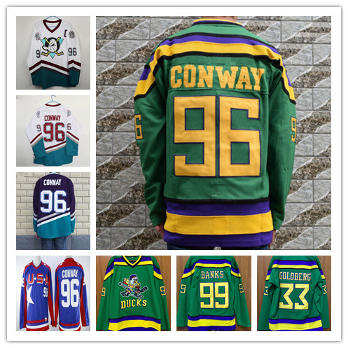 925f54d72 Buy mighty ducks ice hockey jersey and get free shipping on AliExpress.com
