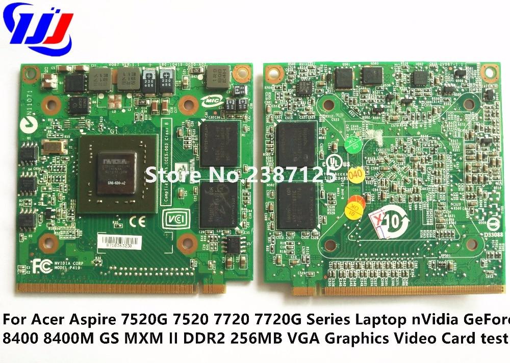 8400M GS 256MB DDR2 LS-3582P VGA Tarjeta de video para TravelMate - Accesorios iluminación - foto 2