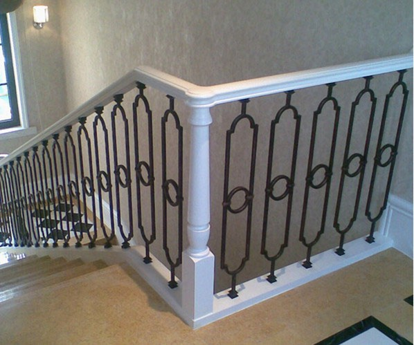 Classic Wrought Iron Stair Guardrail Hc14 Wrought Iron