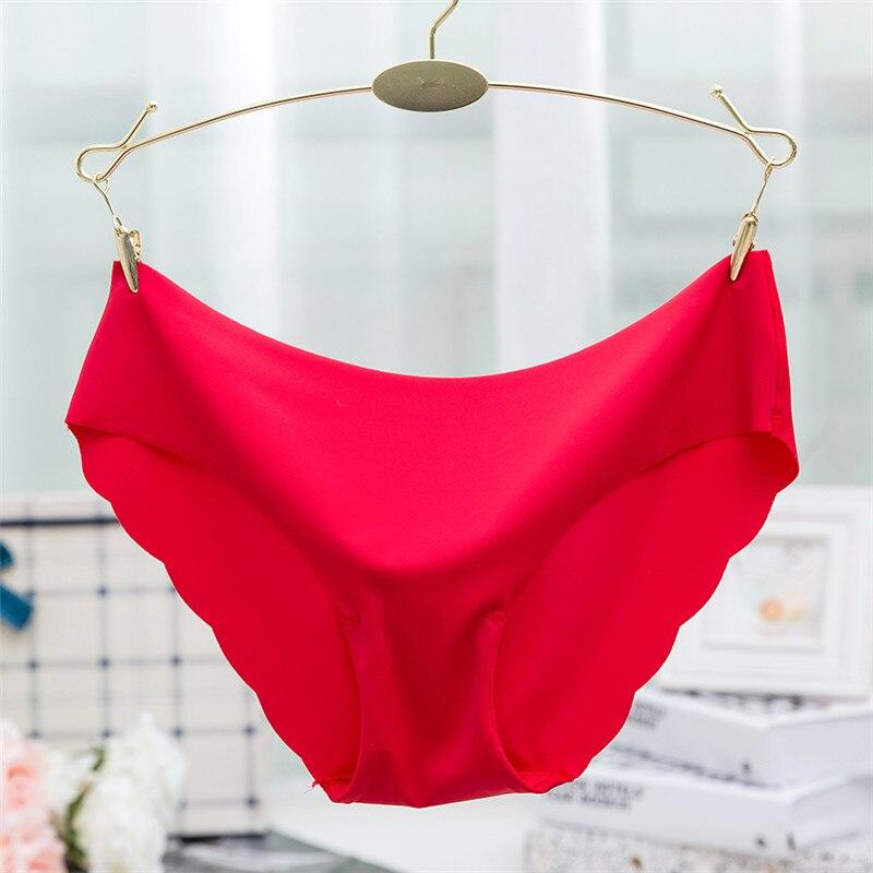 Buy Hot Sale Fashion Women Seamless Ultra-thin Underwear G String Women's Panties Intimates briefs drop shipping
