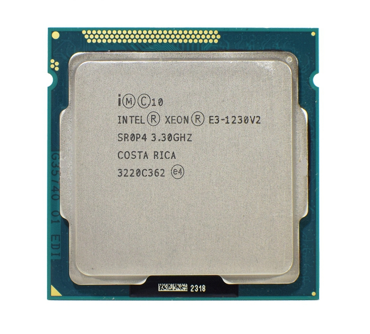 Intel Xeon E3 1230 V2 3.3GHz SR0P4 8M Quad Core LGA 1155 CPU E3-1230 V2 Processor cpu