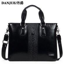 Genuine Leather Briefcase men handbag briefcases laptop bag genuine leather bags Shoulder Bag Tote Messenger bag 317