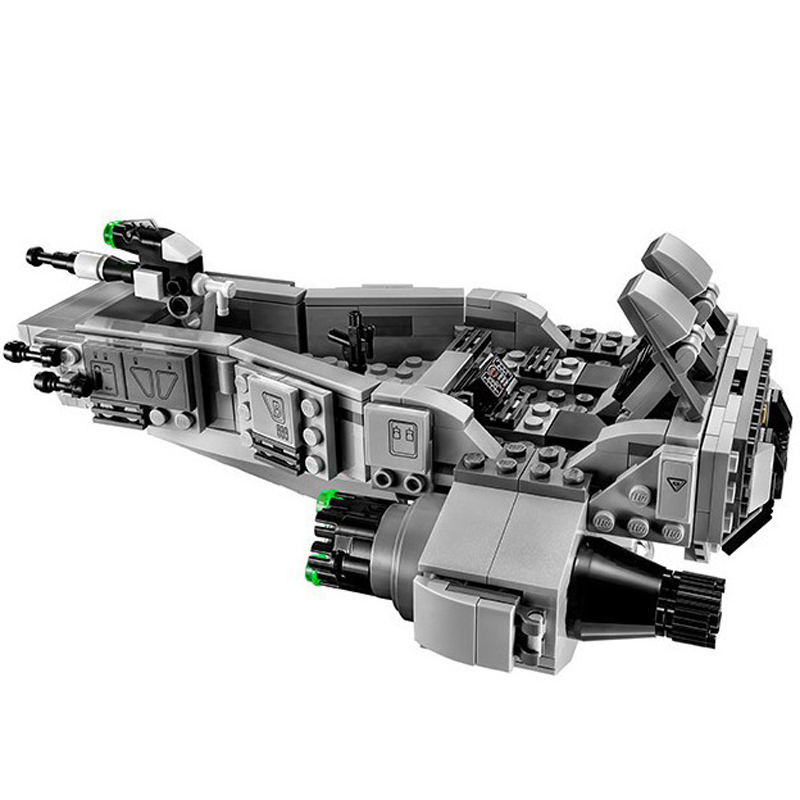 05002 Space Star Wars The Force Awakens First Order Snowspeeder Transporter Building Blocks Brick Toys compatible with gift