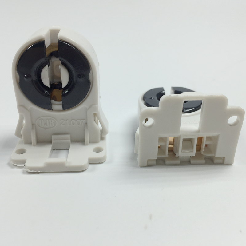 Free Shipping T8 lamp holder T8 aging lampholders <font><b>T10</b></font> fluorescent lamp holder image