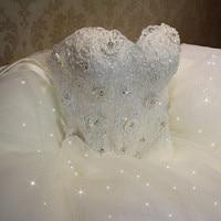 QQ Lover 2018 Elegant Luxury Lace Wedding Dress Vintage Plus Size Ball Gowns Vestido De Noiva
