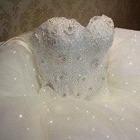 QQ Lover 2019 Elegant Luxury Lace Wedding Dress Vintage Plus Size Ball Gowns Vestido De Noiva
