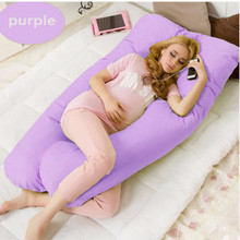 2018 U shape Maternity pillows pregnancy Comfortable Body pregnancy pillow Women pregnant Side Sleepers cushion 130*70CM