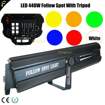 Bruiloft/Theater Show Focus Zoeken Follow Licht Spot Armatuur Met Handmatige/Master DMX512 Controle Follow Spot Light Omvatten fly Case