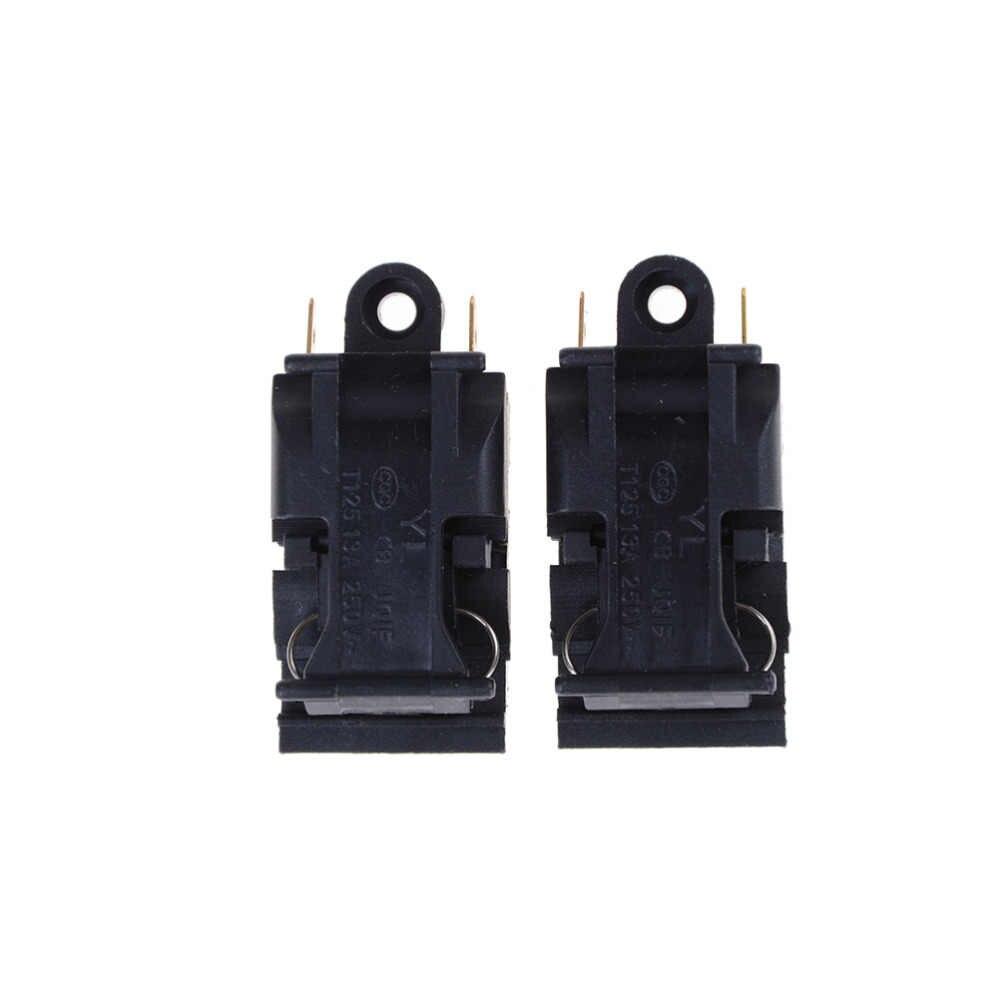 2 adet 45x20mm yaklaşık ev Aletleri Parçaları Termostat Anahtarı Elektrikli Su Isıtıcısı Mutfak Anahtarı