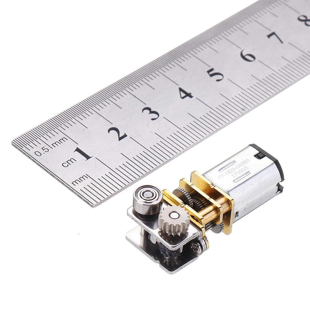 N20 DC12V 11 TR/MIN à Angle Droit Sortie boîte de Vitesses En Métal Micro Moteur À Engrenages pour 3D Stylo GM12YN20-3DP