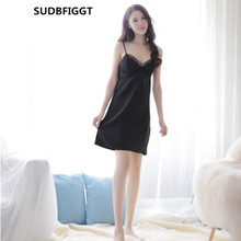 Women full slips dress HOT ladies intimates sexy see through