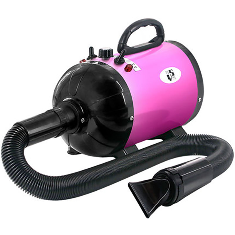 1200W Pet Dryer Dog Cat Grooming Hair Dryer 220V Pet Dog Hair Dryer Pet Blower Low Noise Strong Wind Pink Yellow Blue Black