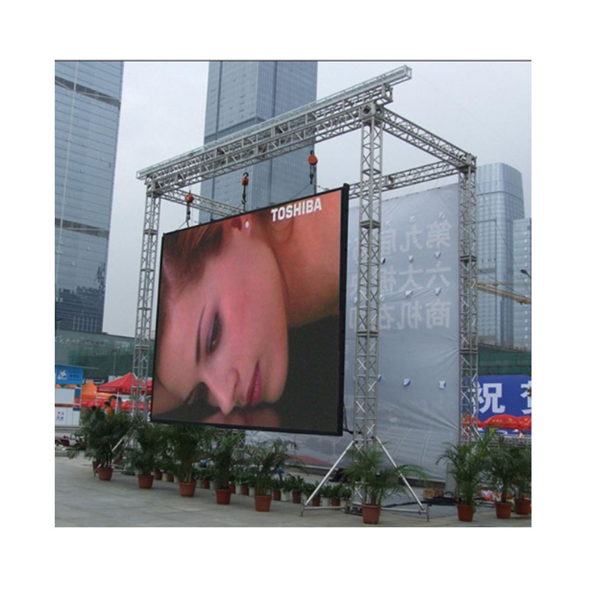 HD Advertising P8 LED Display Outdoor SMD3535 512X512mm Die Casting Aluminum Cabinet LED Video Wall Rental, Screen Panel
