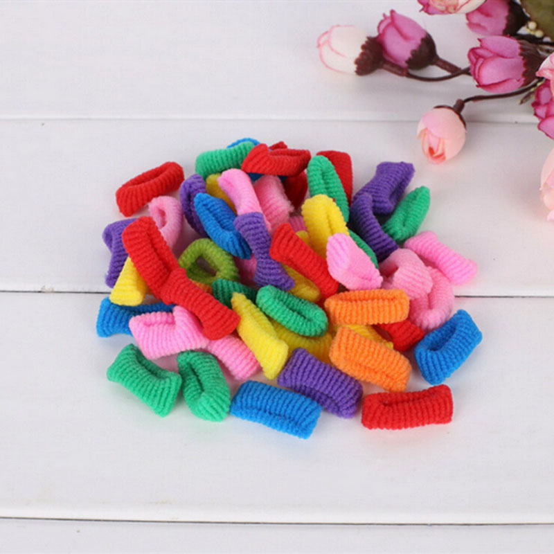 ₪10pcs Lot Colored Hair Holders High ⊰ Quality Quality