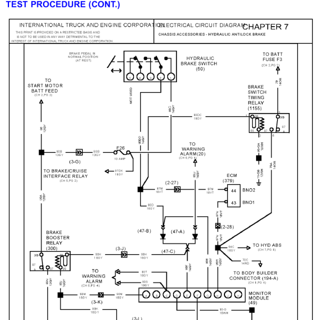 01 International 4700 Wiring Diagram | Wiring Diagram on