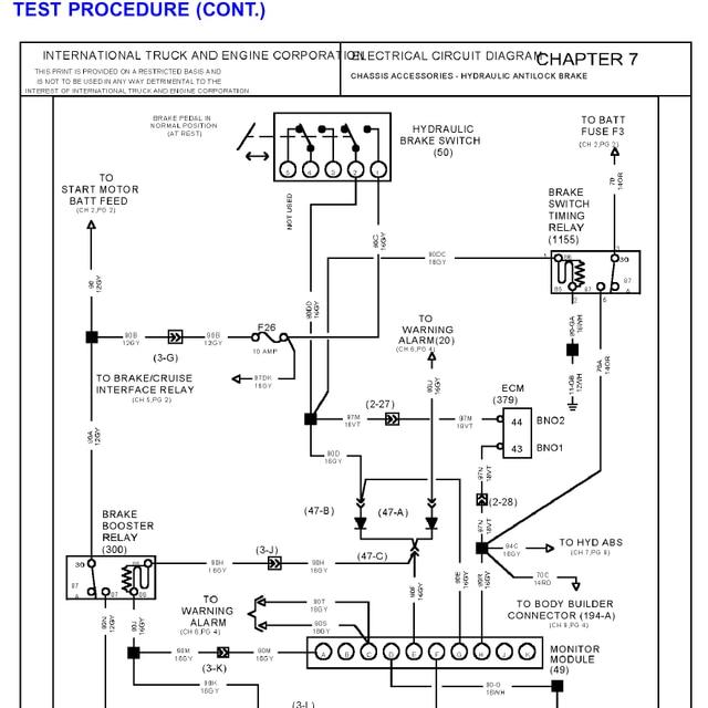 international 9400 ac wiring diagram