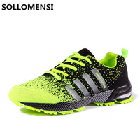 2017 New Men S Mesh Breathable Running Shoes Male Shoes Mam Sneakers Laces Comfortable Shoes Women