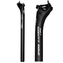 new bike full carbon bicycle seatpost MTB road mountain bike carbon seat post seat tube 27.2/30.8/31.6*350/400 mm bicycle parts(China)