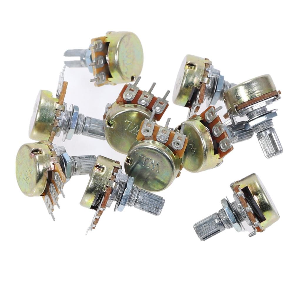 20Pcs WH148 Model Linear Rotary Taper Potentiometer Pot 2K B2K Ohm 3Pin