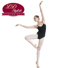 Adult Black Training Leotards Stage Performance Competition Dance Skirt Female Dancewear for Girls Swimming Practice Clothing