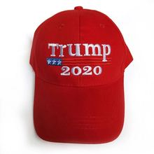 Spring and summer explosion embroidery visors casual unisex cap American characteristics hat make america great again