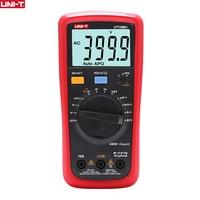 UNI T UNIT Digital Multimeter 1000V 10A AC DC Voltmeter Current Capacitance Meter Electric Capacitor Tester Temperature