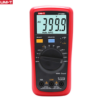 UNI T UNIT Digital Multimeter 1000V 10A AC DC Voltmeter Current Capacitance Meter Electric Capacitor Tester Temperature